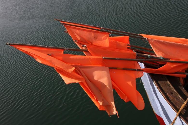 detail vissersboot