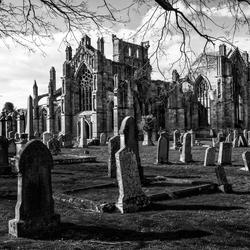 Creepy abandoned Graveyard