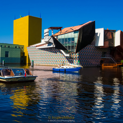 The Colourful Groninger Museum for InspireMedia (Groningen/TheNetherlands)