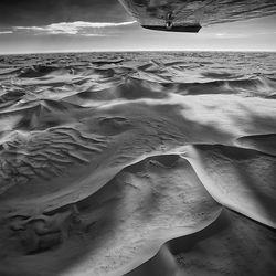 Uitzicht over de Namib