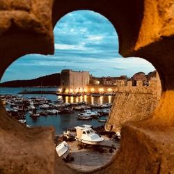 Harbour Perspective, Dubrovnik summer nights - July 2018
