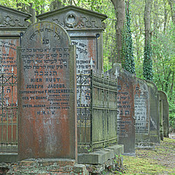 Joods kerkhof.