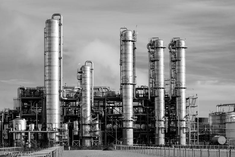 Industrial in Black and White - Verboden voor fotografie.....ach ja.....