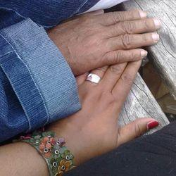 Troostende handen
