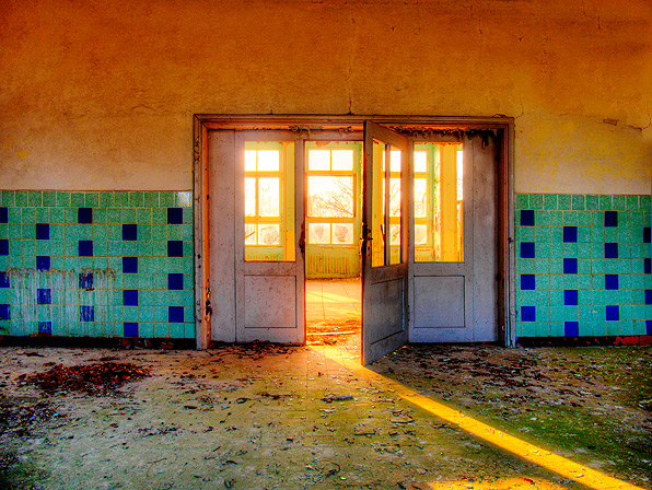 The Sunny Room - The sunny room on a Russian Air Base in the former GDR.