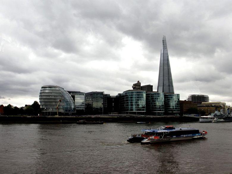 London - Een futuristische foto van deze prachtige stad!