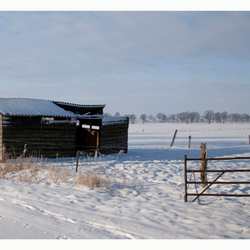 panorama winterlandschap