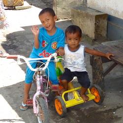 Kinderen op Lombok