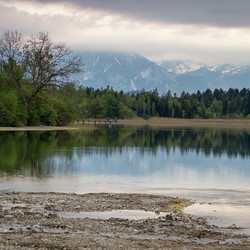 Bavarian Alps Lake