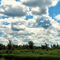 Wolken massa boven de Biesbosch(10).....
