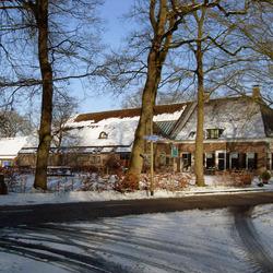 Een laatste winterfoto (hopenlijk) uit het prachtige dorpje Peest
