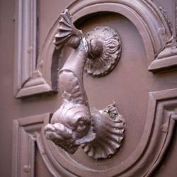 """deurklopper """"de vis"""""""