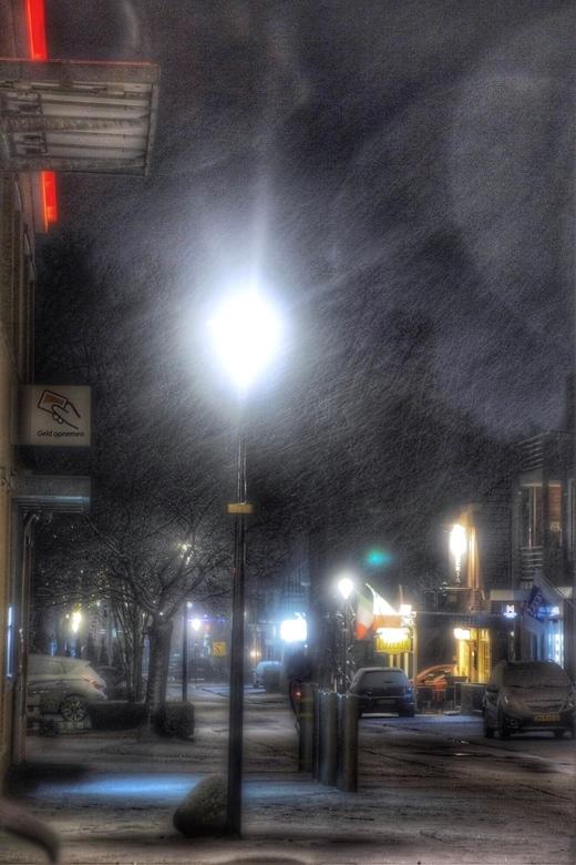 Winters avondje -