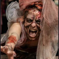Zombie girl..Warande Park Brussel...