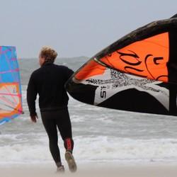 Vlieland surfers