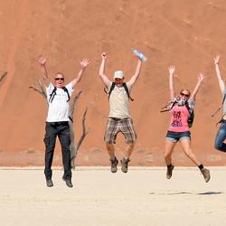 Sprong in de woestijn