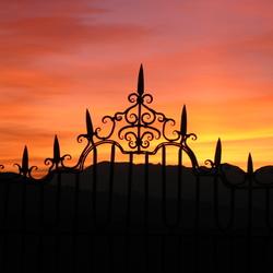 Zonsondergang in Ronda