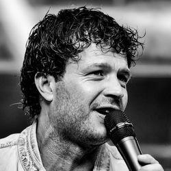 zanger Martijn Stam @Hillegoms Muziekfeest