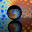 Lens ball creatie