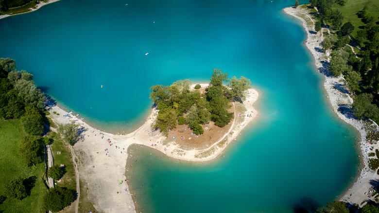 Lago di Tenno Italie