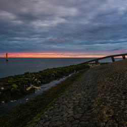 Sunset (Afsluitdijk, The Netherlands)