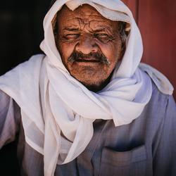 Bedoeïen in Petra, Jordanië
