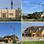 collage houten skelet bouw  liers kanaal  2019 en 2021