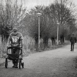 Twee wandelaars...