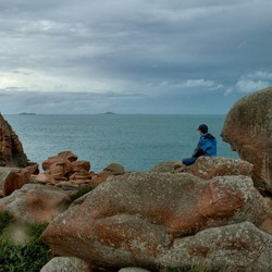 aan de Bretonse kust