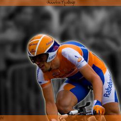 Proloog Tour de France, Rotterdam, Maarten Tjallingii (Rabobank)