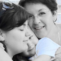 Ik, moeder en oma