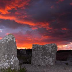 Sunset over Gotland