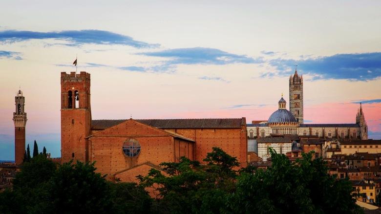 Skyline van Siena -