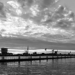 Amsterdam noord aan het IJ