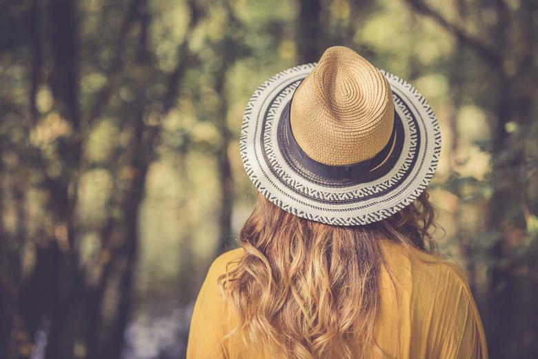 Dromen in een gele jurk - Een dagje shooten in het park met model Annabelle levert prachtige plaatjes op.