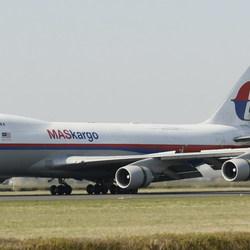 Landing vrachtvliegtuig