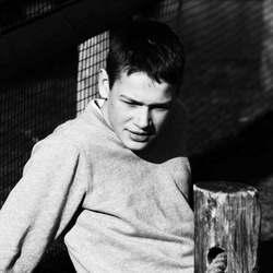 Max in Zwart-wit.