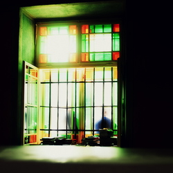 Glas in lood.