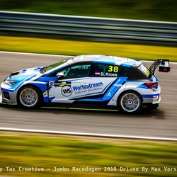 Danny Kroes bocht 9 - Circuit Zandvoort