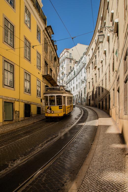Tram Lissabon stad  -