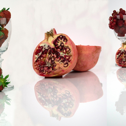 collage rood fruit
