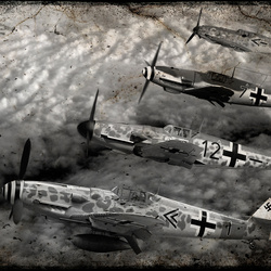 Formatie Messersmith BF-109`s