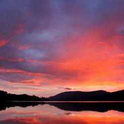 sunset in scotland