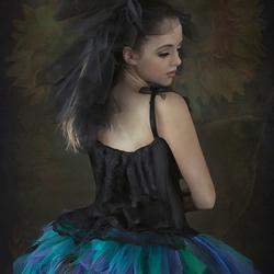 Digitale painting of Chloe