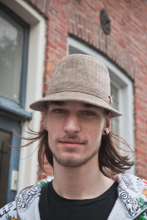 Coole hoed... - ...in Groningen.