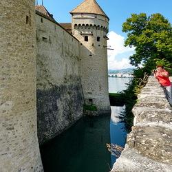 Kasteel Chillon Zwitserland.