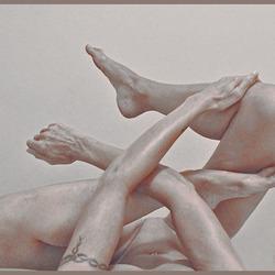 Legs II - zelfportret