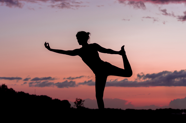Yoga by sunset - Yoga by sunset