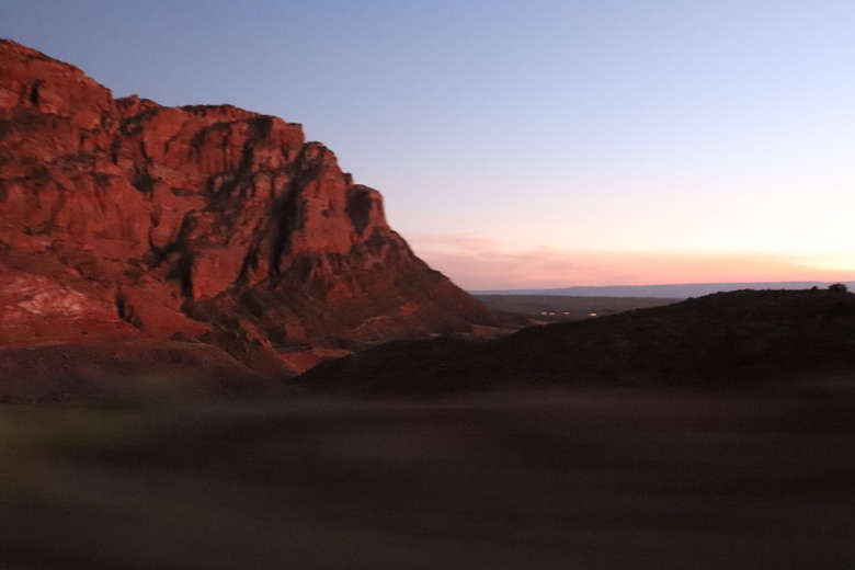sunset mountain -