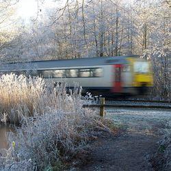 Oeps een trein.